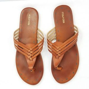 Maurices sandals size 10